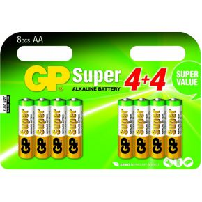 Image of 15A Super Alkaline 8x AA Multipack
