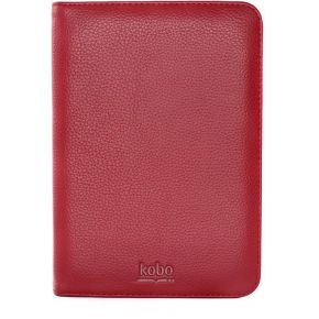 Kobo Carrying Case BookStyle Leather Red (Touch)