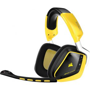 Corsair Gaming VOID Wireless SE Dolby 7.1 Wireless Gaming Headset Black 2.4GHz Wireless 16.8 million