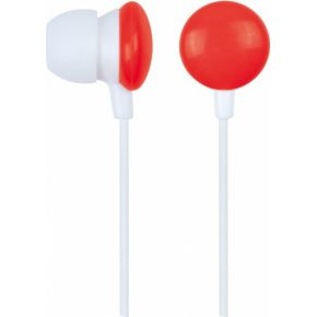Gembird Stereo In-Earphones MP3, red